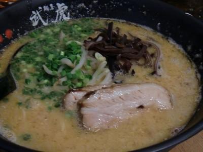 麺屋 武虎の辛豚骨ラーメン1