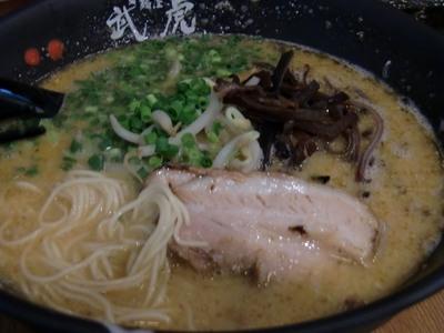 麺屋 武虎の辛豚骨ラーメン3