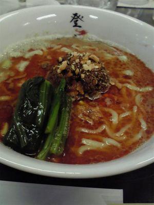登竜門の「濃厚坦坦麺」(880円)