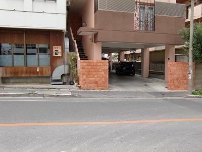 和楽の駐車場スペース