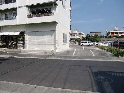 風雲駐車場への進入場所