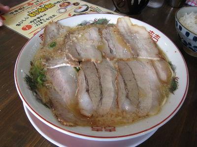 中華そば専門店『和楽』のメニュー『肉中華そば』
